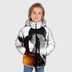 Куртка зимняя для мальчика Rise of the Tomb Raider 1 цвета 3D-черный — фото 2