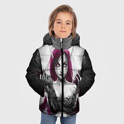 Куртка зимняя для мальчика Cute Demon цвета 3D-черный — фото 2