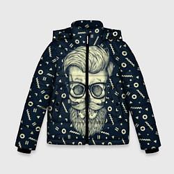 Куртка зимняя для мальчика Hipster is Dead цвета 3D-черный — фото 1