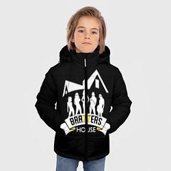 Куртка зимняя для мальчика Brazzers House цвета 3D-черный — фото 2