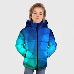 Куртка зимняя для мальчика Fight Polygon цвета 3D-черный — фото 2