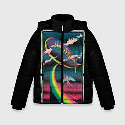 Куртка зимняя для мальчика Led Zeppelin: Colour Fly - фото 1