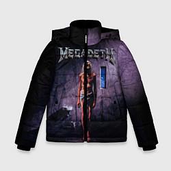 Куртка зимняя для мальчика Megadeth: Madness цвета 3D-черный — фото 1