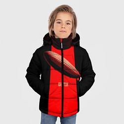 Куртка зимняя для мальчика Led Zeppelin: Red line - фото 2