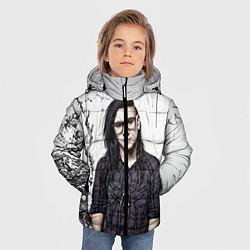 Куртка зимняя для мальчика Skrillex Boy цвета 3D-черный — фото 2