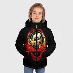 Куртка зимняя для мальчика Megadeth: Blooded Aim цвета 3D-черный — фото 2