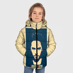 Куртка зимняя для мальчика Jared Leto цвета 3D-черный — фото 2
