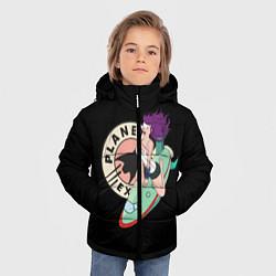 Куртка зимняя для мальчика Leela Express цвета 3D-черный — фото 2