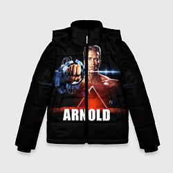 Куртка зимняя для мальчика Iron Arnold цвета 3D-черный — фото 1