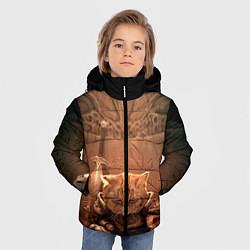 Куртка зимняя для мальчика Довакин цвета 3D-черный — фото 2