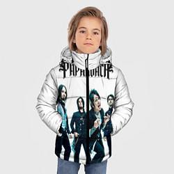 Куртка зимняя для мальчика Paparoach Band цвета 3D-черный — фото 2