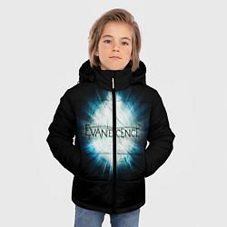 Куртка зимняя для мальчика Evanescence Explode цвета 3D-черный — фото 2