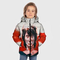 Куртка зимняя для мальчика Молодой Цой цвета 3D-черный — фото 2