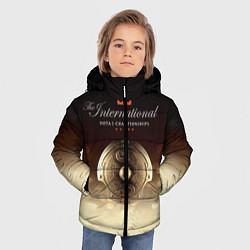 Куртка зимняя для мальчика The International Championships цвета 3D-черный — фото 2