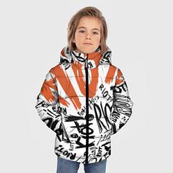 Куртка зимняя для мальчика Paramore: Riot цвета 3D-черный — фото 2