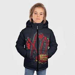Куртка зимняя для мальчика The Weeknd: Beauty Behind цвета 3D-черный — фото 2