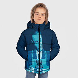 Куртка зимняя для мальчика G-Man: Rise & Shine цвета 3D-черный — фото 2