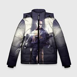 Куртка зимняя для мальчика Gordon Army цвета 3D-черный — фото 1