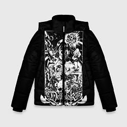Куртка зимняя для мальчика Dethklok: Metalocalypse цвета 3D-черный — фото 1