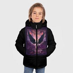 Детская зимняя куртка для мальчика с принтом Dethklok: Angel, цвет: 3D-черный, артикул: 10134390106063 — фото 2