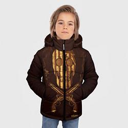 Куртка зимняя для мальчика Taboo Duel цвета 3D-черный — фото 2