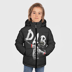 Куртка зимняя для мальчика Paul Pogba: Dab цвета 3D-черный — фото 2