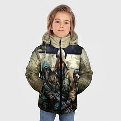Детская зимняя куртка для мальчика с принтом STALKER: Radioactive, цвет: 3D-черный, артикул: 10135204906063 — фото 2