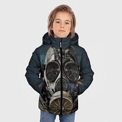 Куртка зимняя для мальчика STALKER: Mask цвета 3D-черный — фото 2