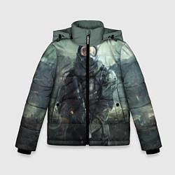 Куртка зимняя для мальчика STALKER цвета 3D-черный — фото 1