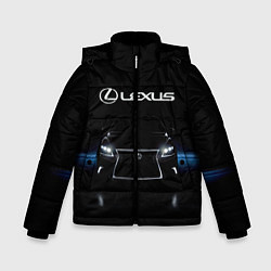 Куртка зимняя для мальчика Lexus цвета 3D-черный — фото 1