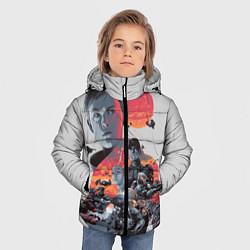 Куртка зимняя для мальчика Halo Wars цвета 3D-черный — фото 2