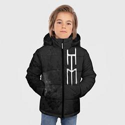 Куртка зимняя для мальчика HIM цвета 3D-черный — фото 2