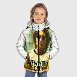 Куртка зимняя для мальчика John Lennon: New York цвета 3D-черный — фото 2