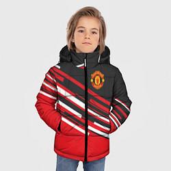 Куртка зимняя для мальчика Man UTD FC: Sport Line 2018 цвета 3D-черный — фото 2