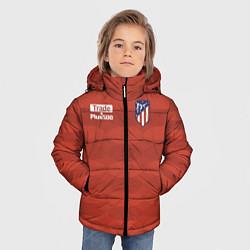 Куртка зимняя для мальчика Atletico Madrid: Red Ellipse цвета 3D-черный — фото 2