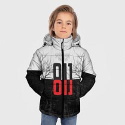 Детская зимняя куртка для мальчика с принтом Stranger Things 011, цвет: 3D-черный, артикул: 10140033306063 — фото 2