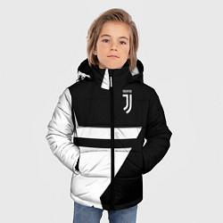 Куртка зимняя для мальчика FC Juventus: Star цвета 3D-черный — фото 2