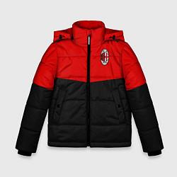 Куртка зимняя для мальчика АC Milan: R&B Sport цвета 3D-черный — фото 1