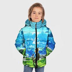 Куртка зимняя для мальчика Z-Link цвета 3D-черный — фото 2