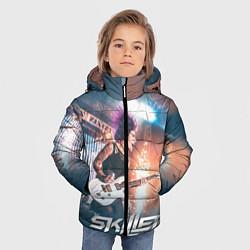 Куртка зимняя для мальчика Skillet: Korey Cooper цвета 3D-черный — фото 2