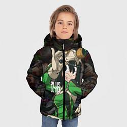 Детская зимняя куртка для мальчика с принтом Plus Ultra: My Hero Academia, цвет: 3D-черный, артикул: 10144543506063 — фото 2