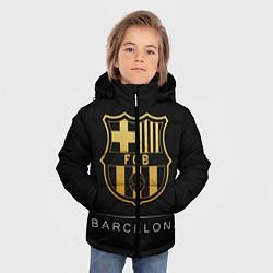 Куртка зимняя для мальчика Barcelona Gold Edition цвета 3D-черный — фото 2