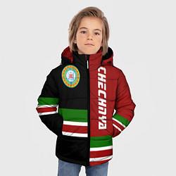 Куртка зимняя для мальчика Chechnya, Russia цвета 3D-черный — фото 2