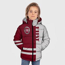 Куртка зимняя для мальчика Fiat цвета 3D-черный — фото 2