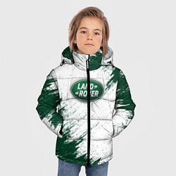 Куртка зимняя для мальчика Land Rover цвета 3D-черный — фото 2