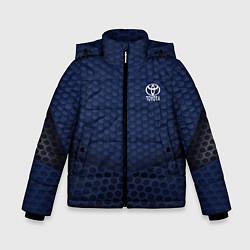 Куртка зимняя для мальчика Toyota: Sport Motors цвета 3D-черный — фото 1