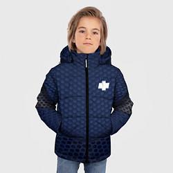 Куртка зимняя для мальчика Chevrolet: Sport Motors цвета 3D-черный — фото 2