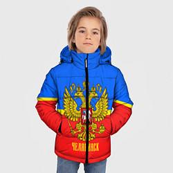 Куртка зимняя для мальчика Челябинск: Россия цвета 3D-черный — фото 2