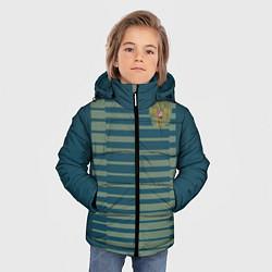 Детская зимняя куртка для мальчика с принтом Сборная России: Вратарская ЧМ-2018, цвет: 3D-черный, артикул: 10149543506063 — фото 2