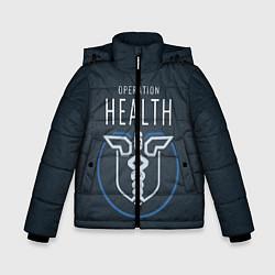 Куртка зимняя для мальчика R6S: Operation Health цвета 3D-черный — фото 1